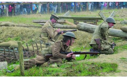 Irish Military War Museum re-enactment