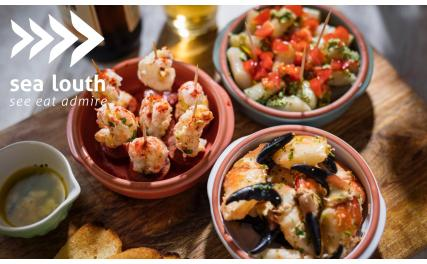 sea louth tasty seafood tapas