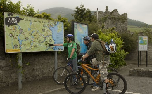 Táin Trail Cycling Route