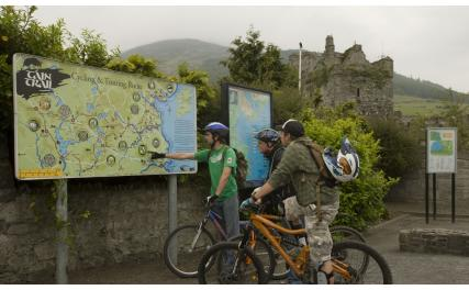Táin Trail Cycle Route
