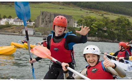 Adventure on the water at Carlingford