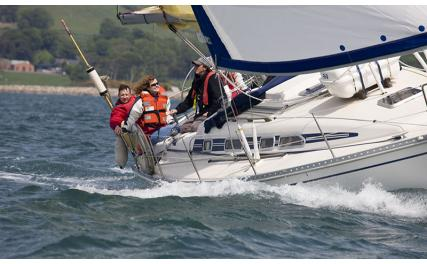 Carlingford Sailing - yacht