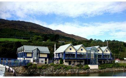 Carlingford Marina - buildings