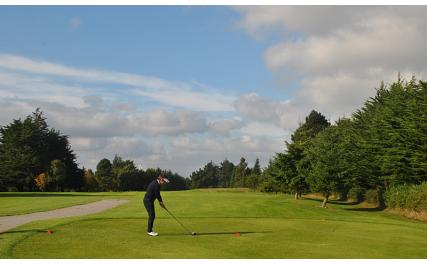 Dundalk Golf Club - player on course