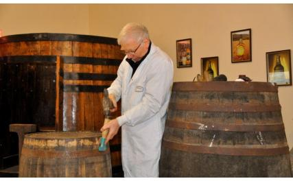 Martins' Distillery - barrell