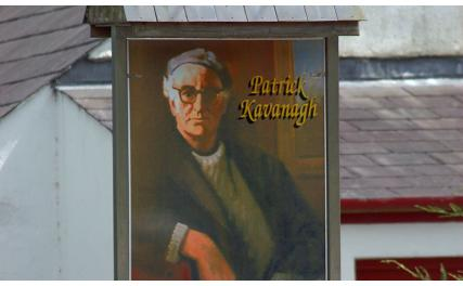 Patrick Kavanagh Centre - sign