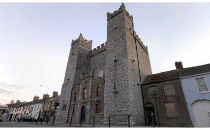 Ardee Castle in the centre of Ardee