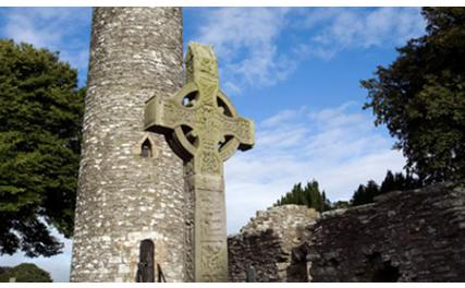Monasterboice High Cross and Tower