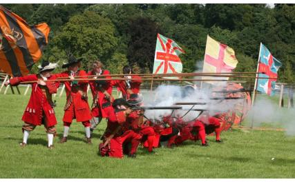 Battle of the Boyne Estate, Oldbridge - living history